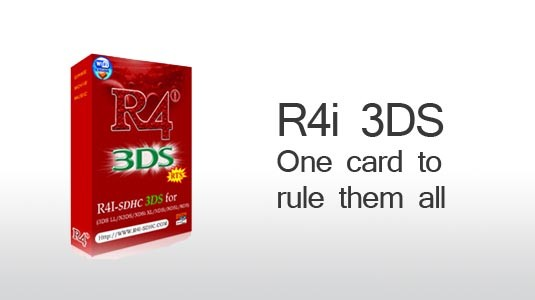 R4i Flaskort Nintendo 3ds